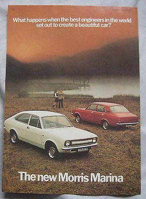 1971 Morris Marina Original advert No.1