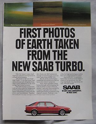 1991 SAAB 9000 Turbo Original advert