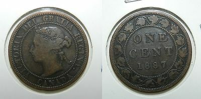 Canada : One Cent 1887