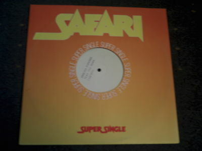 "English Evenings- Tear You Down-1 Sided White Label 12"" Single"