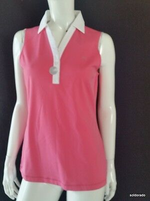 BRAX GOLF LADIES PoloShirt Senna Pink Cooltech gr.m NEW