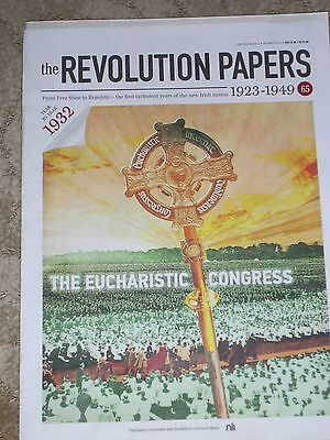 REVOLUTION PAPERS-part 65-Irish newspapers(1923-1949)EUCHARITIC CONGRESS 1932