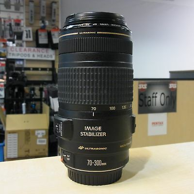 Used Canon EF 70-300mm f4-5.6 IS USM Lens - 1 YEAR GTEE