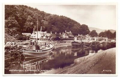Waterfoot,Carradale,Argyll,publisher Valentine   (AP6)