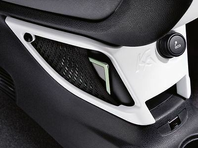 Genuine Ford Ka Centre Console Mounted Storage Net in Pearl White (1843670)