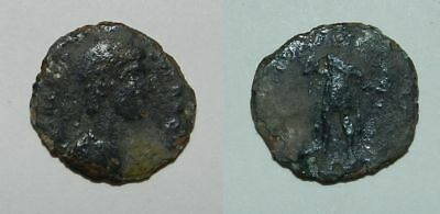 ANCIENT ROME :   BRONZE COIN - 4th Century A.D. (#23)