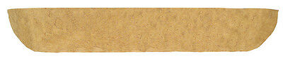 """48"""" (120cm) Natural Co-Co Liner for Window Box - Wall Trough - Flower Basket"""