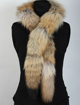 2002 Fur Boa From Canadian Coyotes Real Coyote Fur Real Canadian Coyote Fur Boa