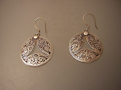 Silber ohrringe  aus Nepal ( silver earing)