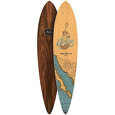 """Arbor Longboard Deck Timeless Groundswell 9"""" x 42"""" Pintail"""