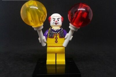 IT Pennywise / Clown -  Lego Compatible Minifigure Horror, Halloween custom