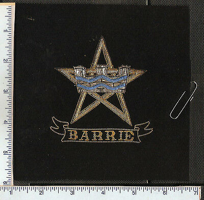 for sale , 1 vintage Barrie Ontario Police crest as found.