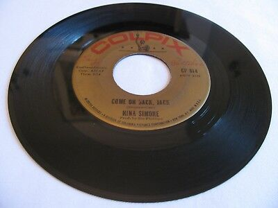 Nina Simone - Come On Back, Jack / You've Been Gone Too Long - Colpix