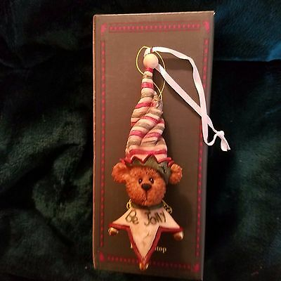 Boyds Bears Elfie Talltop ornament  New Retired