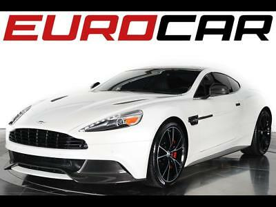 2014 Aston Martin Vanquish Base Coupe 2-Door 2014 Aston Martin Vanquish - EXPOSED CARBON EXTERIOR, Hourglass Quilted Seats