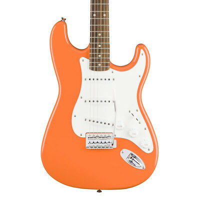 Fender Squier Affinity Series Stratocaster, Competition Orange, Rosewood (NEW)