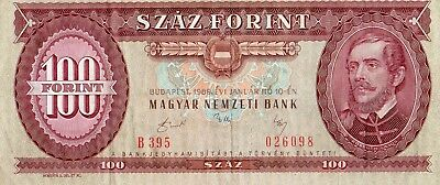 Hungary 1989 100 Forint Currency