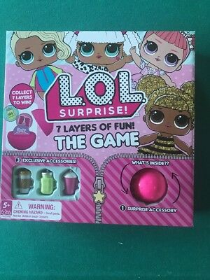 New! LOL Surprise - The Game With Exclusive Accessories 7 Layers Of Fun.