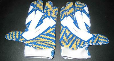 Maurice Leggett CFL Blue Bombers NFL Chiefs Lions Game Used Gloves Adidas w/COA