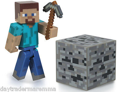 *30 Day Special* MINECRAFT - Core Steve Action Figure with Accessory #Item 16501