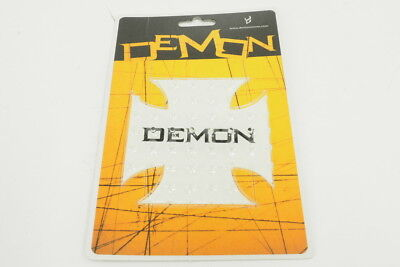 New! Demon Snow DS1005 Cross Adhesive Spiked Snowboard Stomp Pad Clear