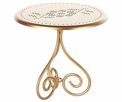 Maileg Miniature Furniture -Gold Vintage Coffee Table - Maileg Mouse & Bunny Ra