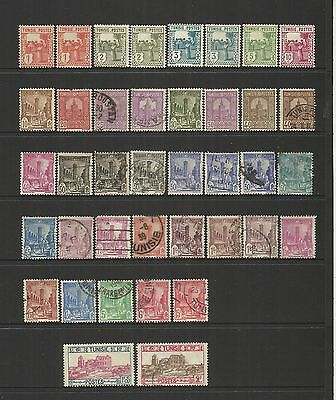 Tunisia (French) ~ 1926-1941 Definitives (Part Sets)
