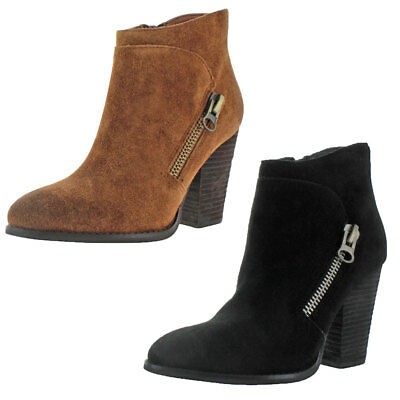 Very Volatile Kolt Women's Suede Ankle Booties Boots