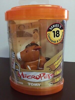 Tomy Original 2002 Micropets Series 2  Oak Sealed in Package