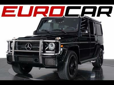 2015 Mercedes-Benz G-Class G63 AMG 2015 Mercedes-Benz G63 AMG - designo® Exclusive Leather Package in Classic Red