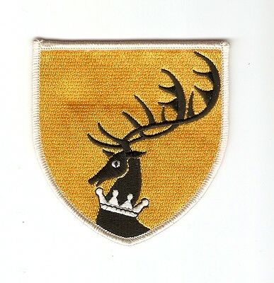 + GAME OF THRONES Aufnäher Haus BARATHEON Logo