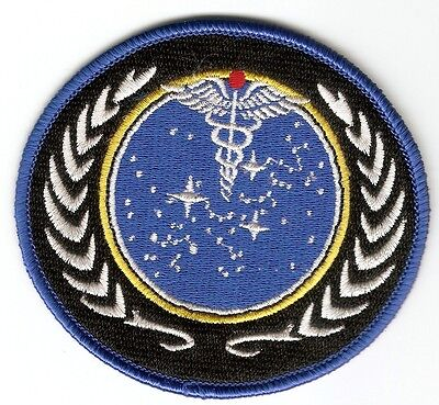 + STAR TREK Aufnäher Patch STARFLEET MEDICAL Classic Series TOS