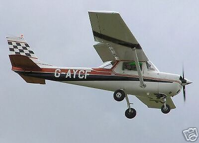 Giant 1/3 Scale  Cessna 150 Plans and Templates 120ws