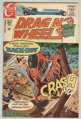 Drag N' Wheels #46 April 1971 FN