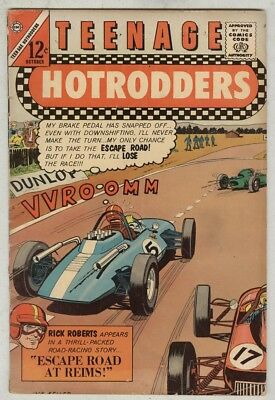 Teenage Hotrodders #4 October 1963 VG