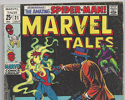 The Amazing Spider-Man #26 Reprint in Marvel Tales #21 from July 1969 in VG+ con