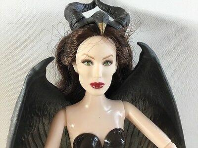 Disney Maleficent Royal Coronation Doll NUDE Angelina Jolie Jakks Pacific OOAK