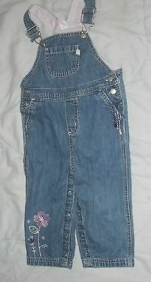 Pre-Owned Carter's  Overalls Infant Girls 24 Mo's