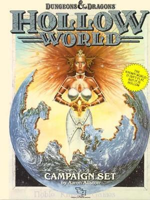 TSR Hollow World Hollow World Box VG