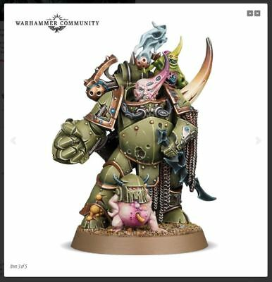 Warhammer 40k Death Guard Plague Marine Champion - Pre-Order