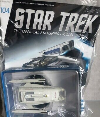 STAR TREK Official Starships Magazine #104 U.S.S. Jenolan NCC-2010 Eaglemoss eng