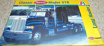 Italeri 1/24 Peterbilt 378 Long Hauler