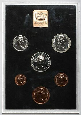 1971 Queen Elizabeth Ii Great Britain Commemorative Proof Coin Set