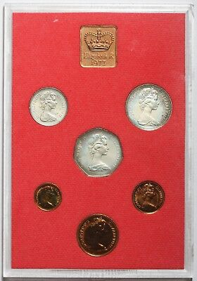 1973 Queen Elizabeth Ii Great Britain Commemorative Proof Coin Set