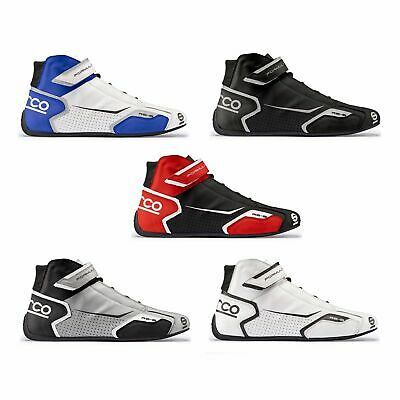 Sparco Formula RB-8 Race / Racing / Rally Driving Leather Boots / Shoes