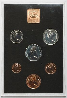 1978 Queen Elizabeth Ii Great Britain Commemorative Proof Coin Set