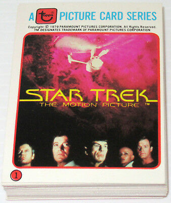 HIGH GRADE 1979 STAR TREK THE MOTION PICTURE COLONIAL BREAD Promo 33 Card Set