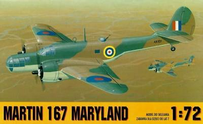 Martin Maryland (Raf/south African Af And French Af Markings) 1/72 Gomix Rare!
