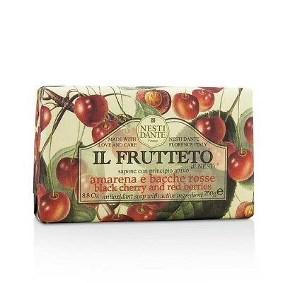 Nesti Dante Il Frutteto Antioxidant Soap - Black Cherry & Red Berries 250g Bath