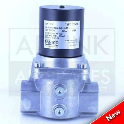 "Gas Interlock Solenoid Valve For Commercial Kitchens 1 1/4"" BSP (35mm) ZEV32"
